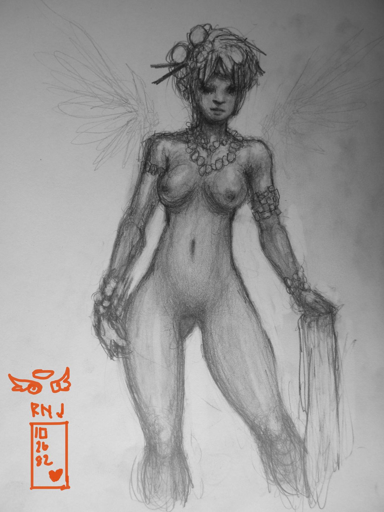 Angelius Halo Primera sketch