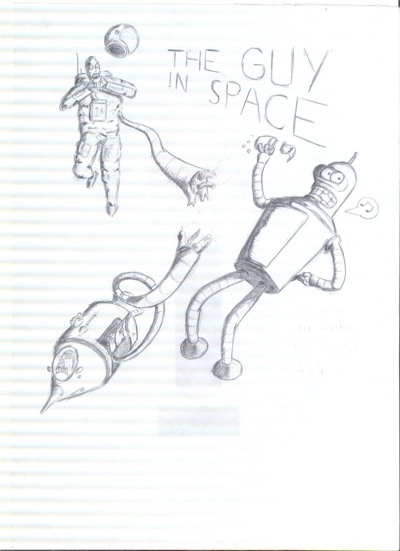 Bender In Space