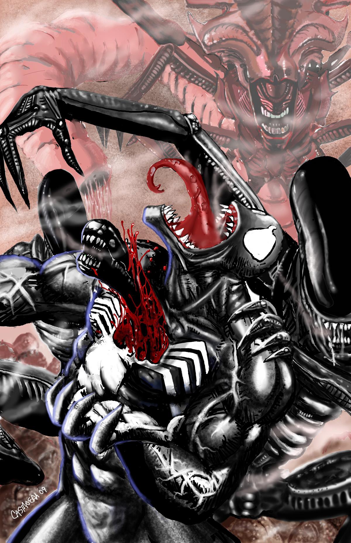 Venom vs Aliens