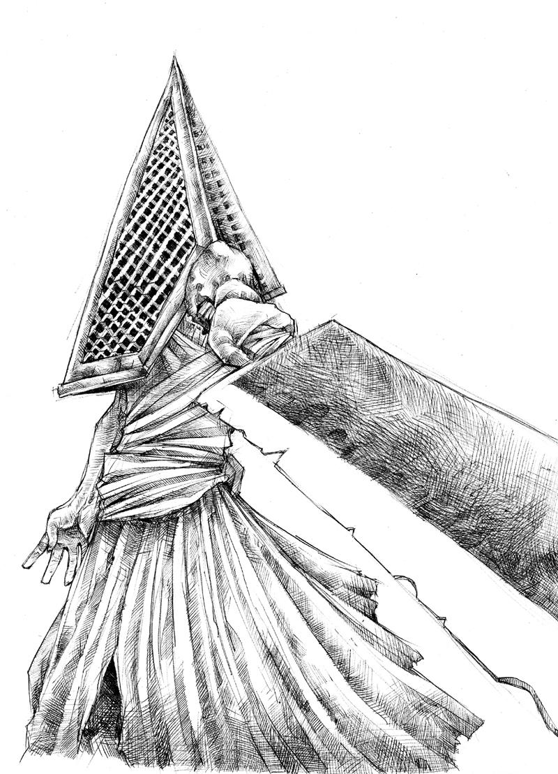 Pyramid Head Sketch