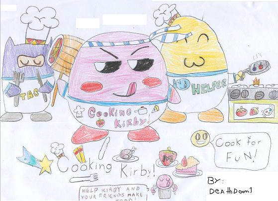 Cooking Kirby (Game Idea)