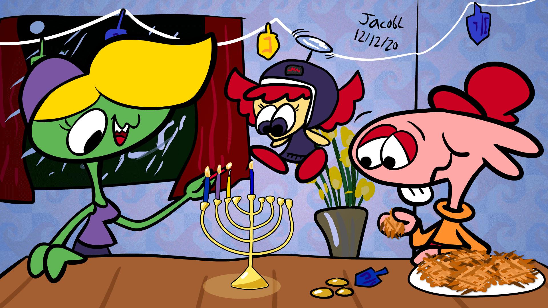 Hanukkah at Dez's