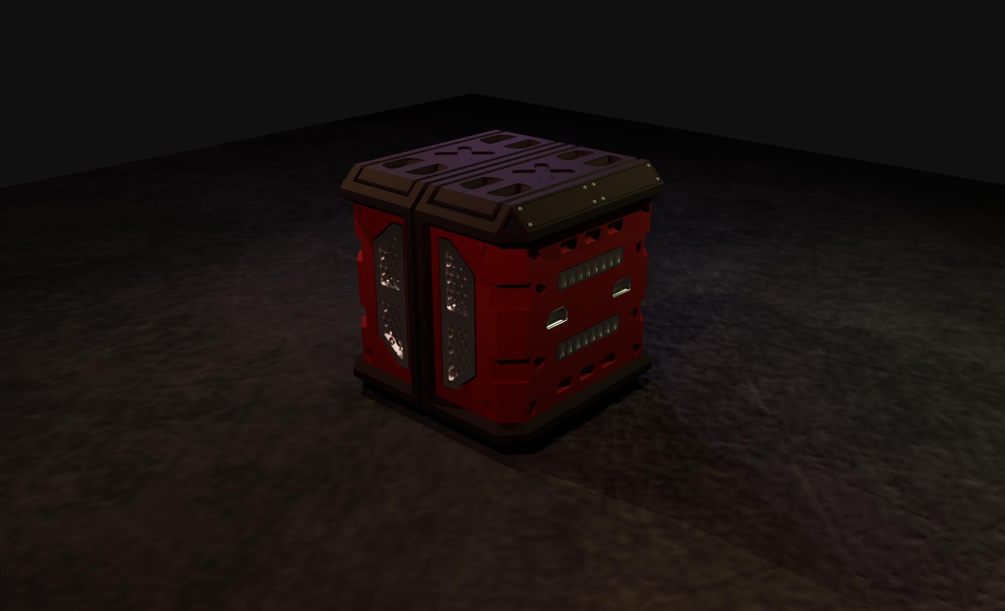 Ski-fi crate