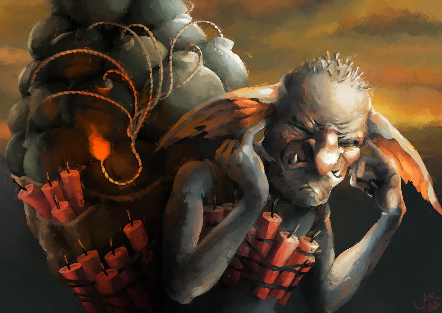 Explosive Technician Goblin