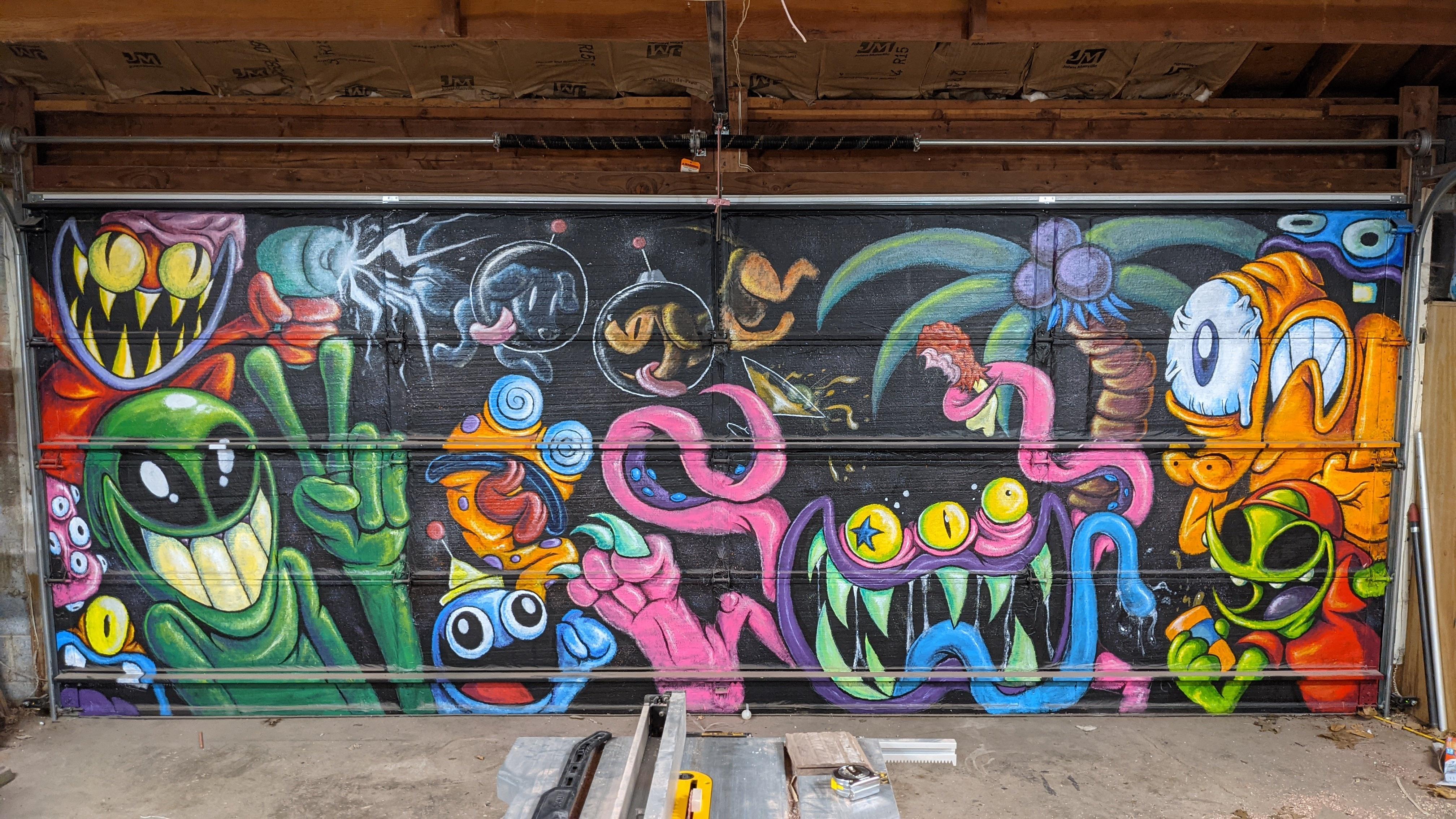 Alien Mural Commission