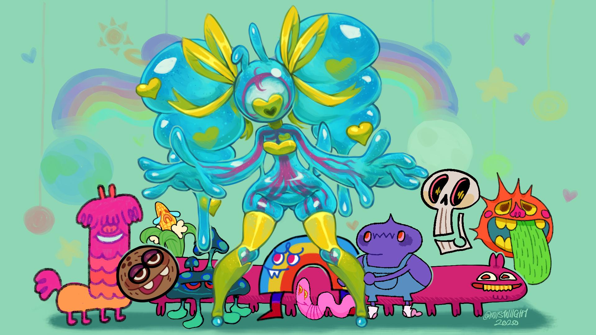 Iris and Friends!