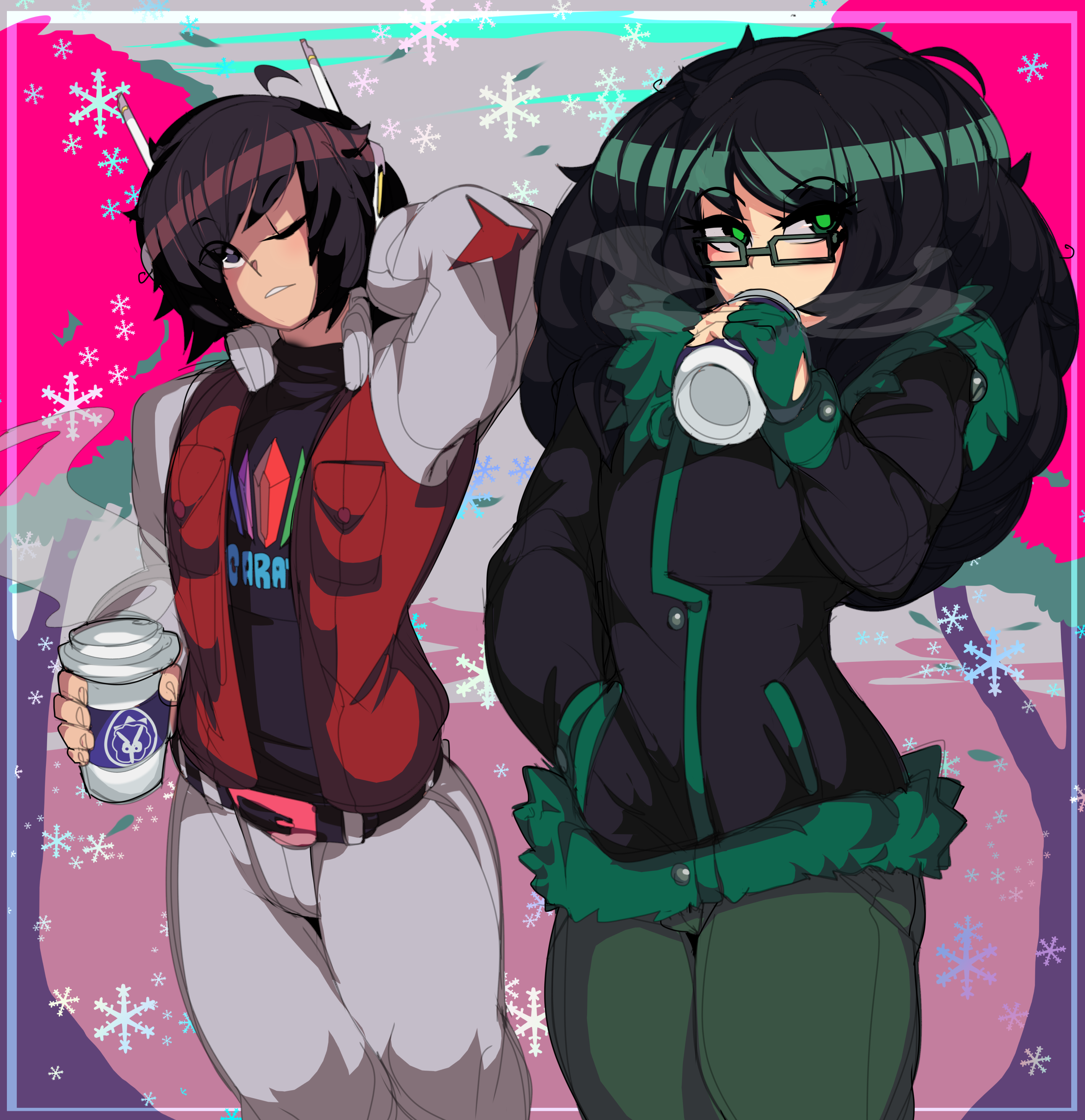 Team CLIMAX boys winter outfits
