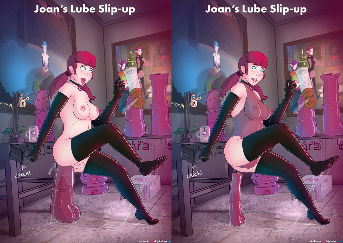 Joan's Slip-Up