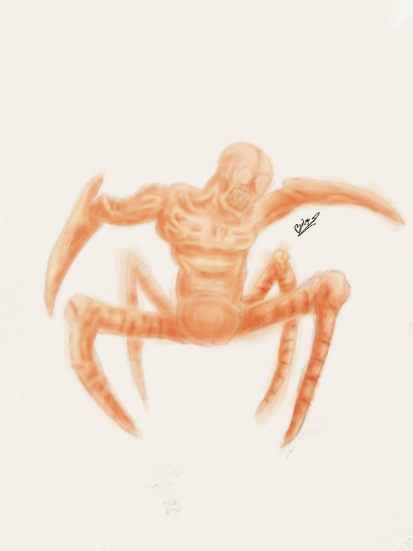Spiderling Concept Art