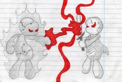 Battle of strength