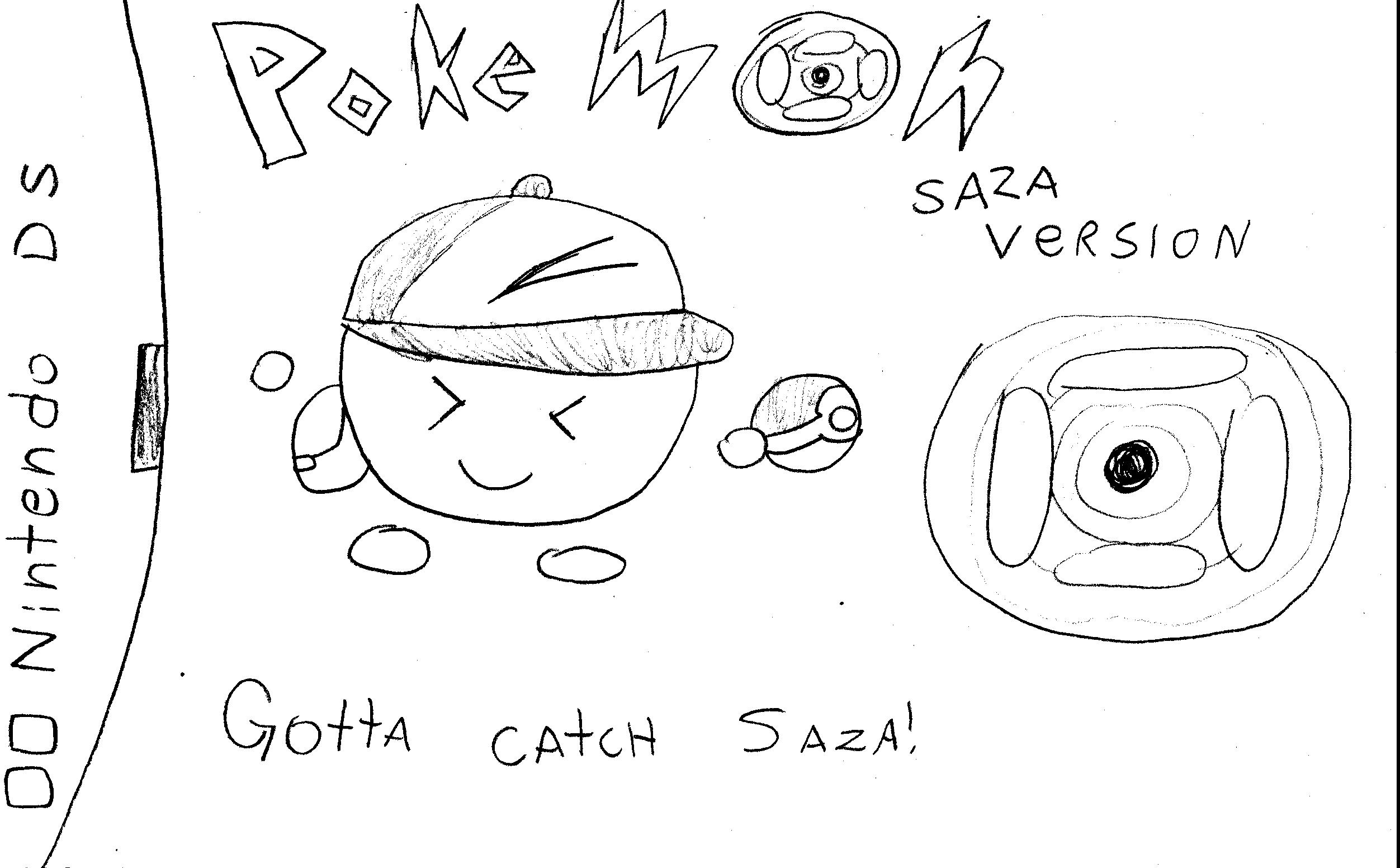 Pokemon Saza Version DS Game