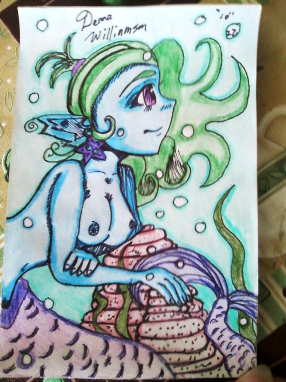 Reminiscing Mermaid