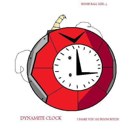 Dynamite Clock