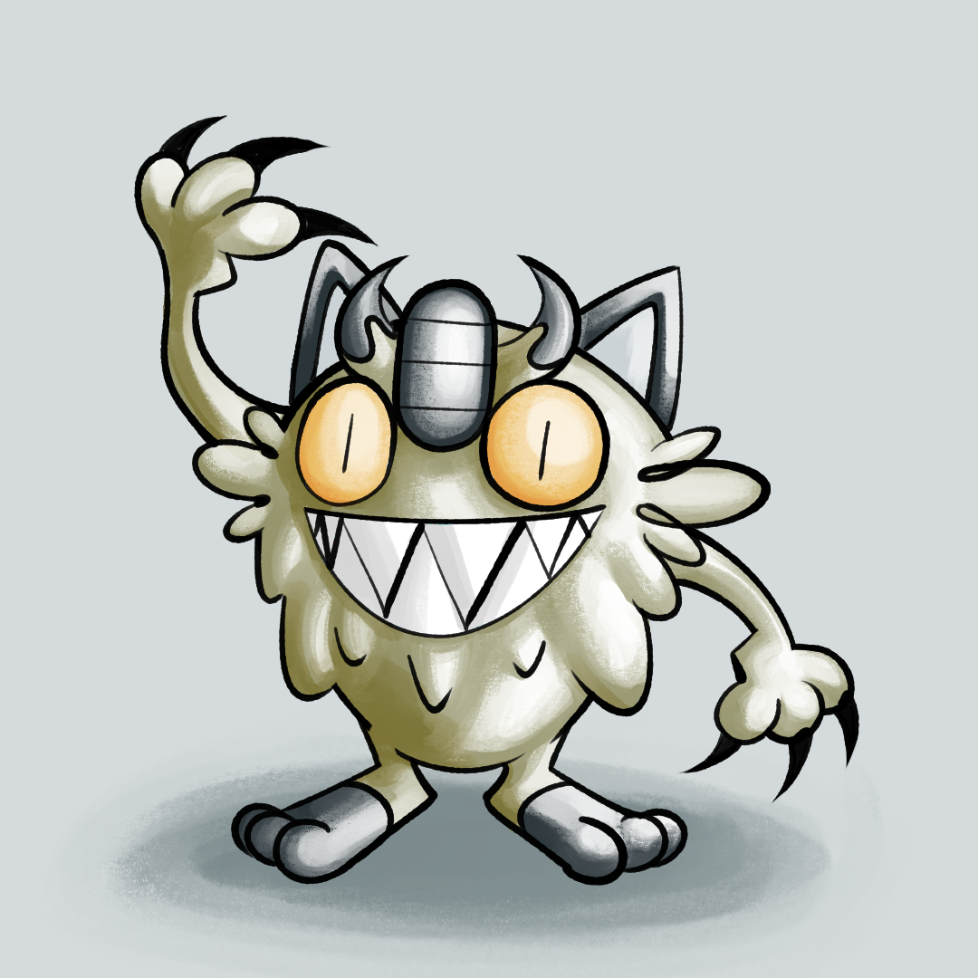 Gen 1 Galarian Meowth