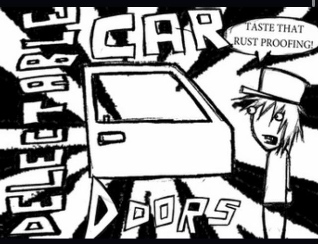 DELECTABLE CAR DOORS