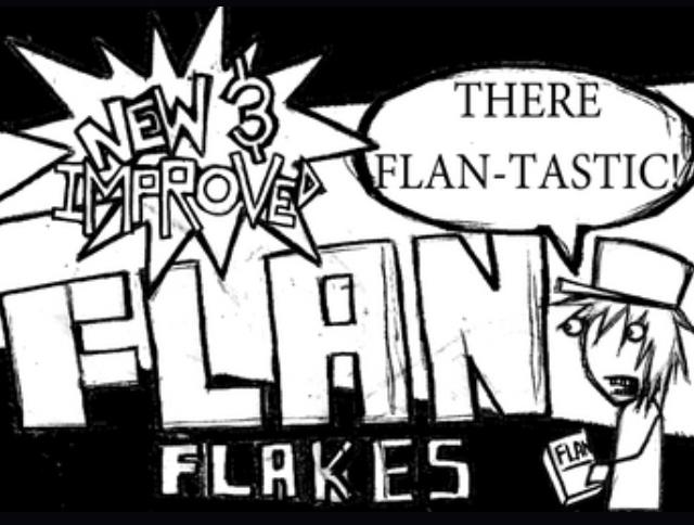 FLAN FLAKES