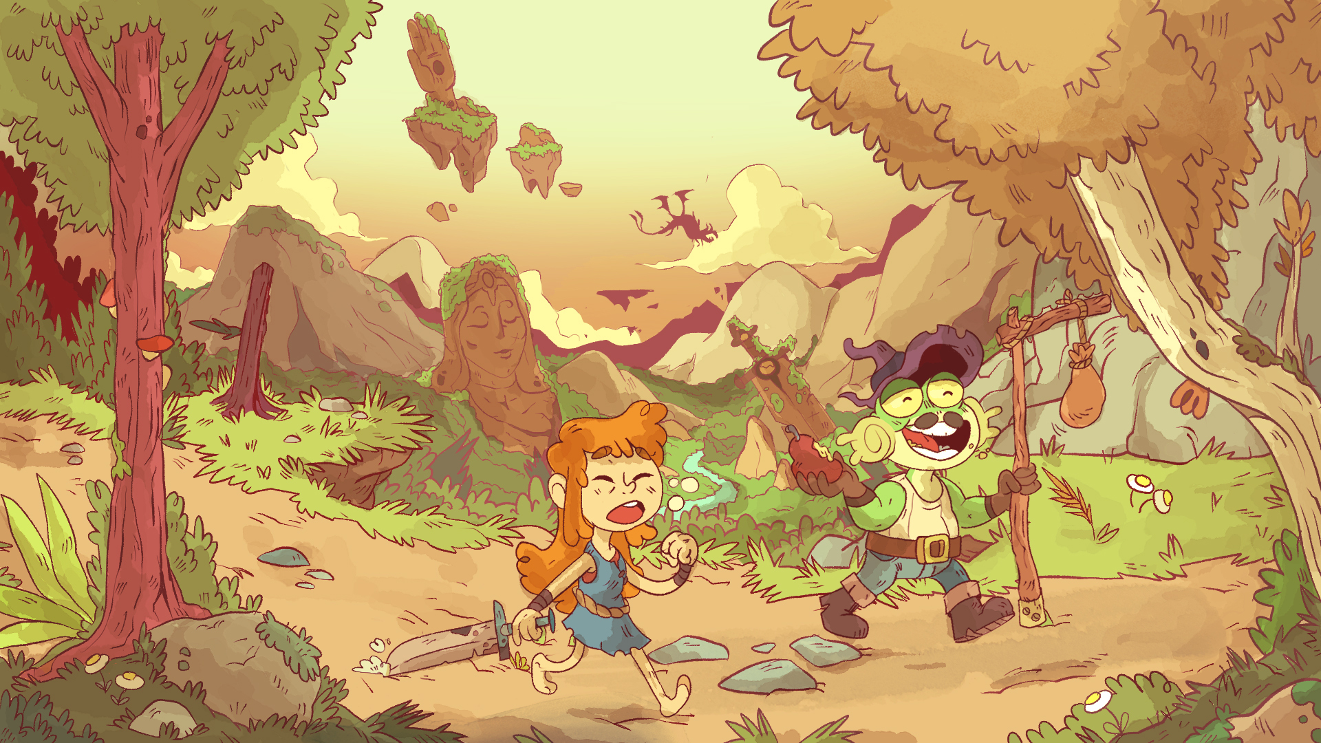 Adventurers on the road