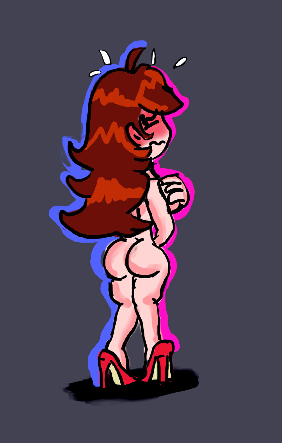 ENF Butt Spaker Girl