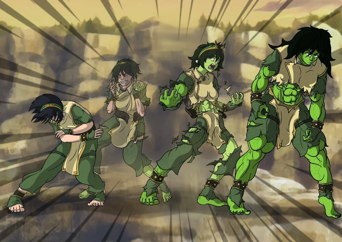 Transformation she hulk The Death