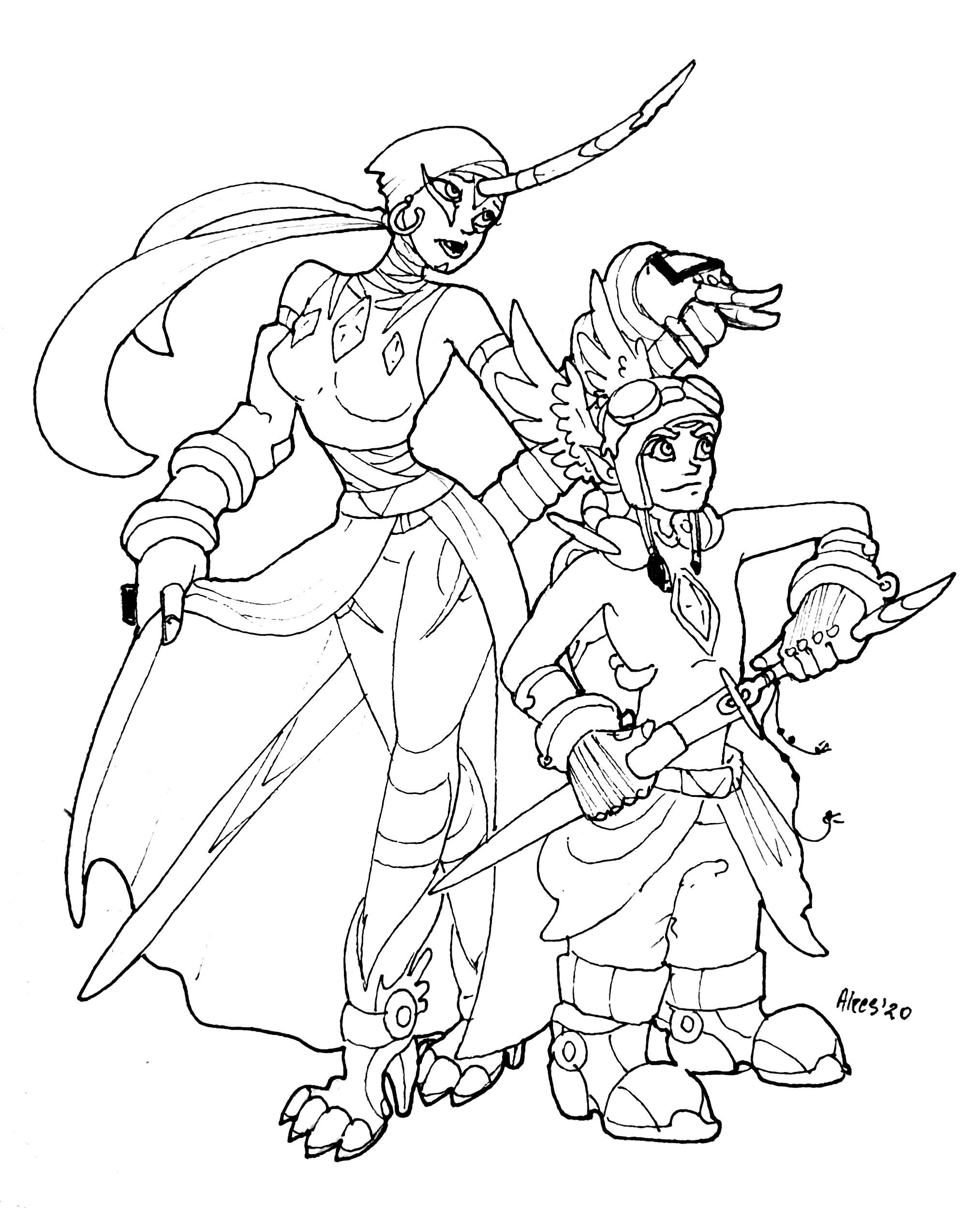 Marsala and Azure