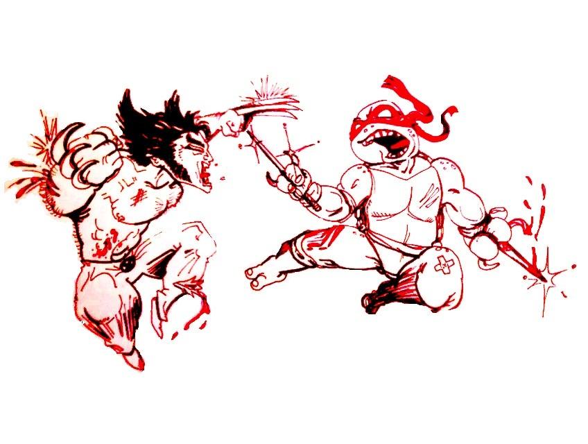 Logan vs. Raphael