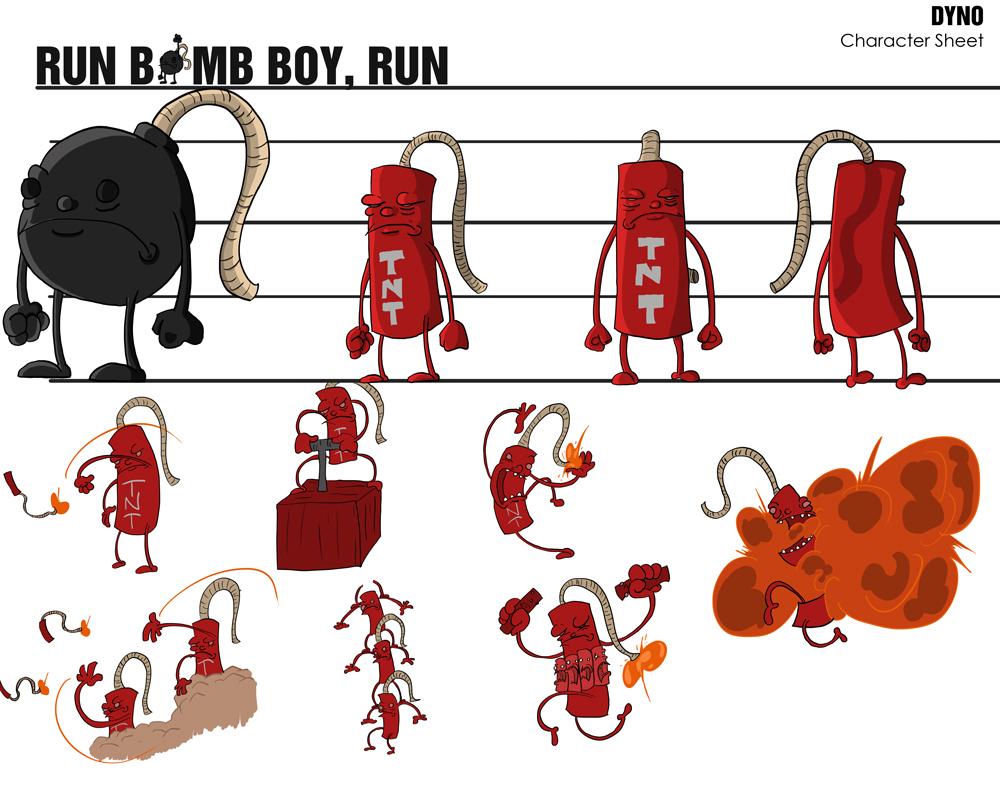 Dyno Character Sheet