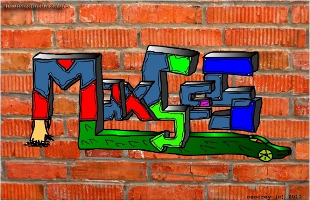 Maxces on Wall