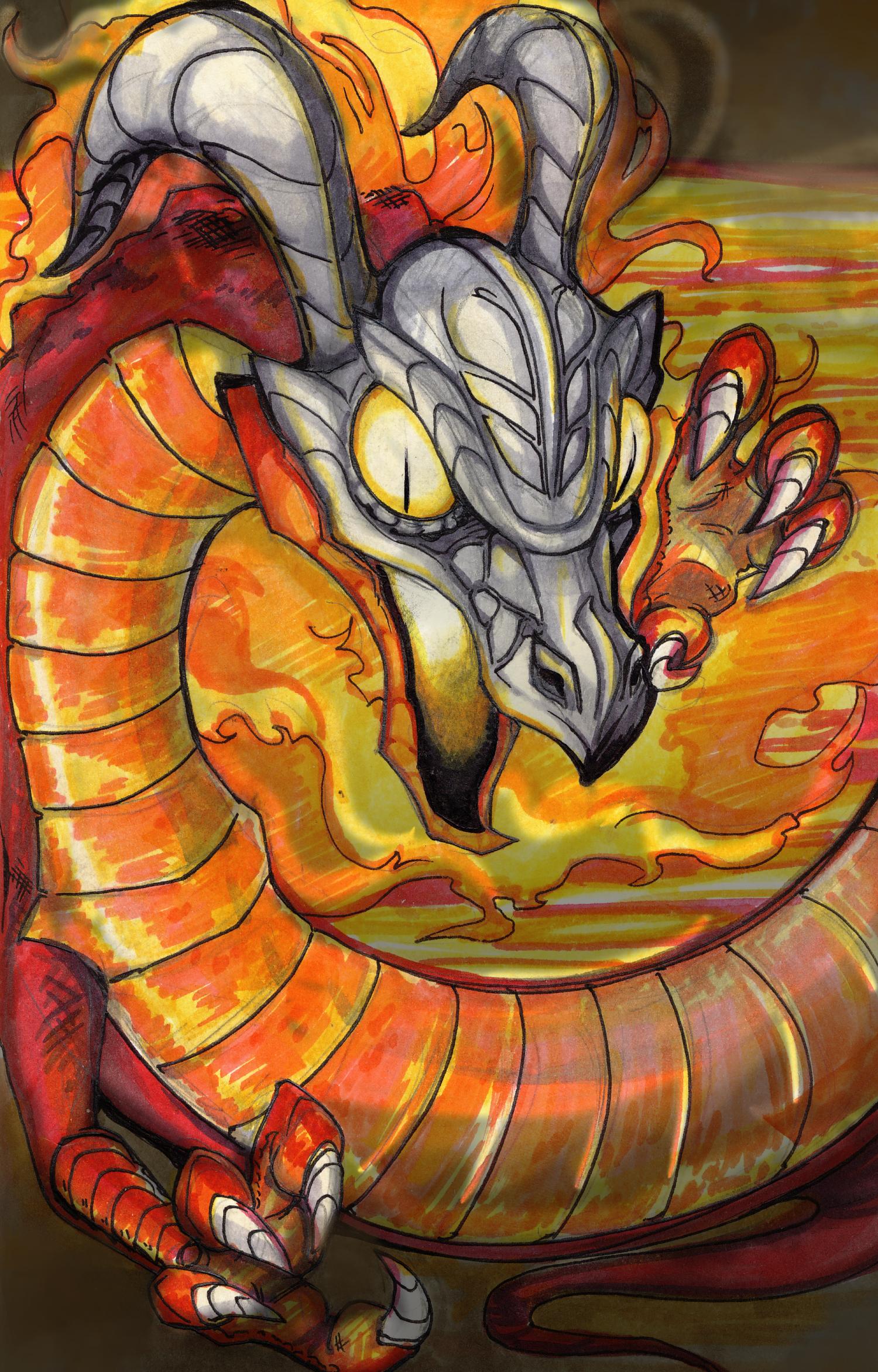 Volvagia - Fire Temple Boss