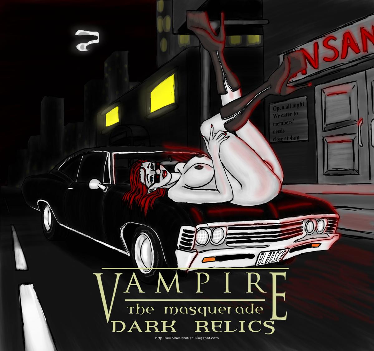 Vampire: Dark Relics-Vivianne