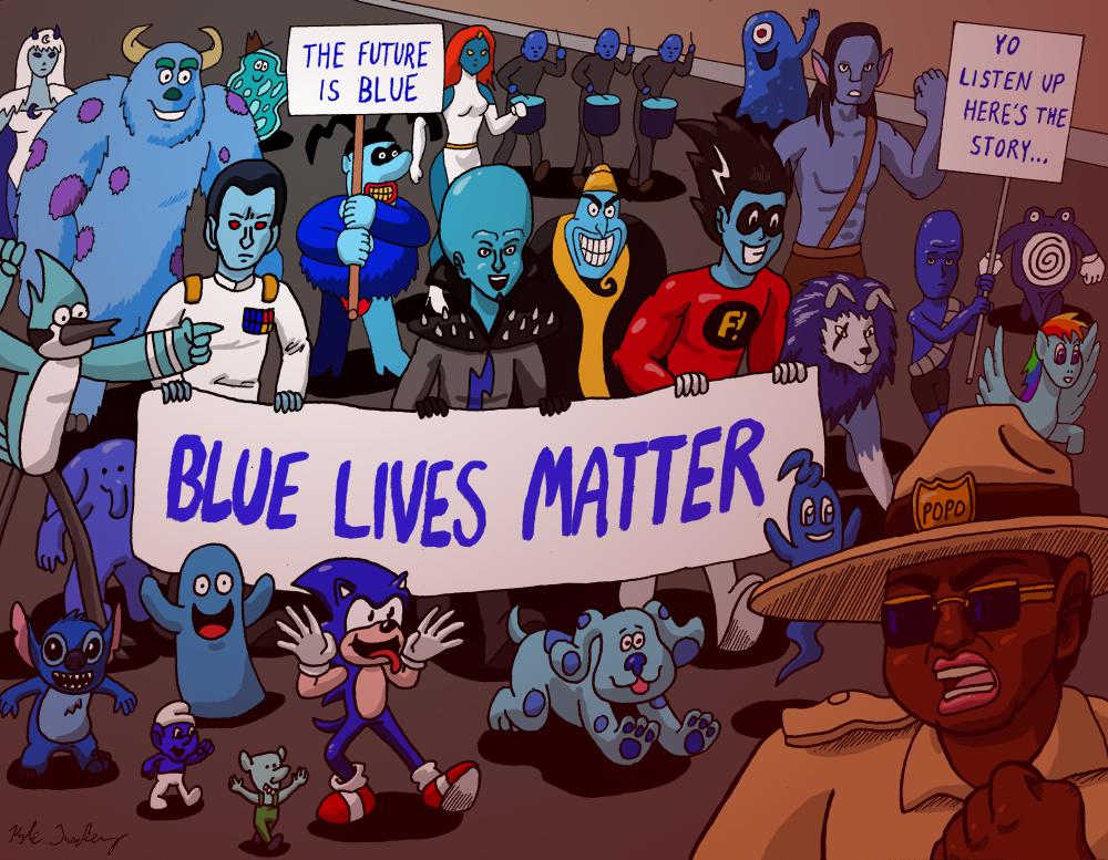 Blue Lives Matter Rally 2020