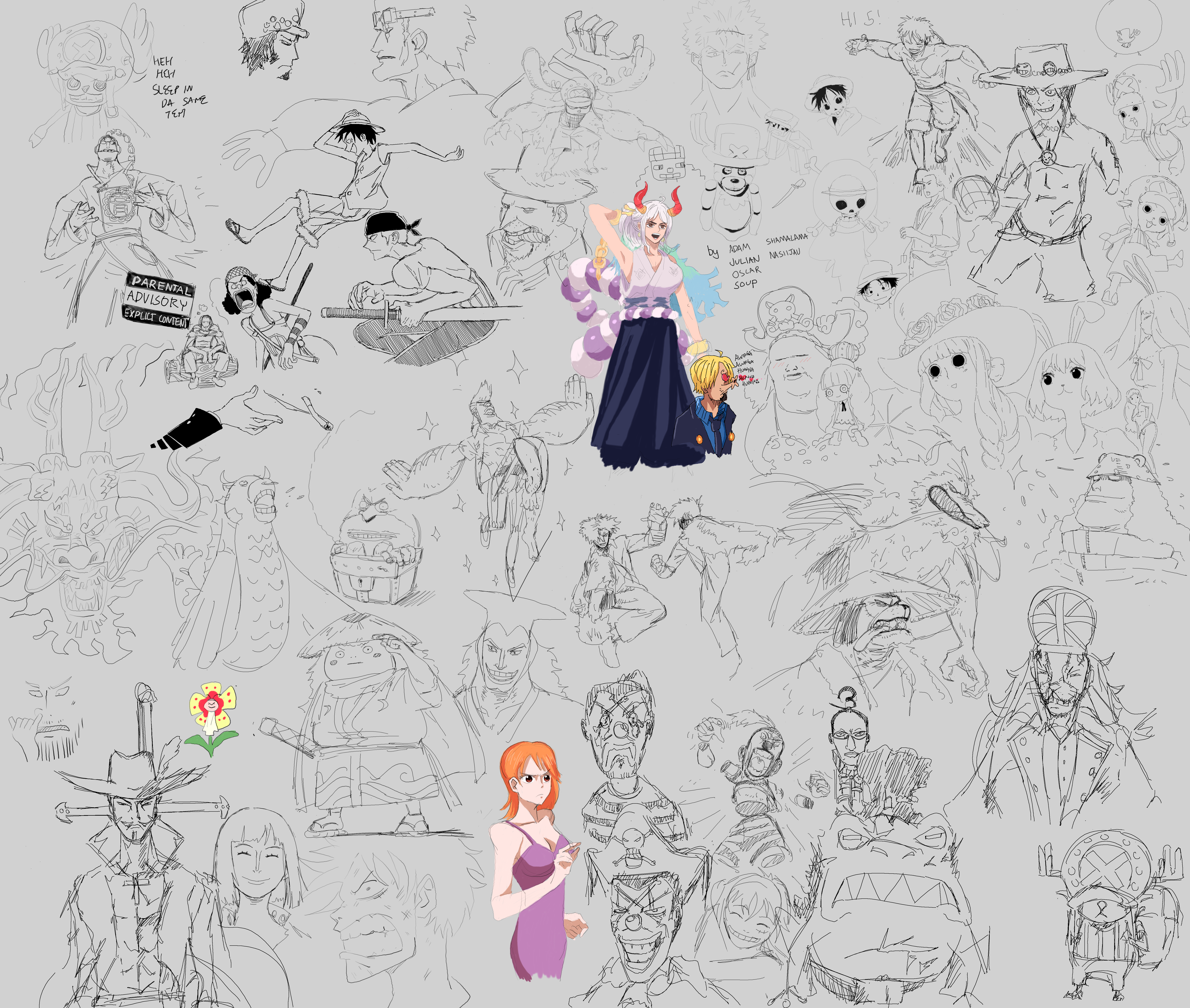 one piece ch 1000 drawpile