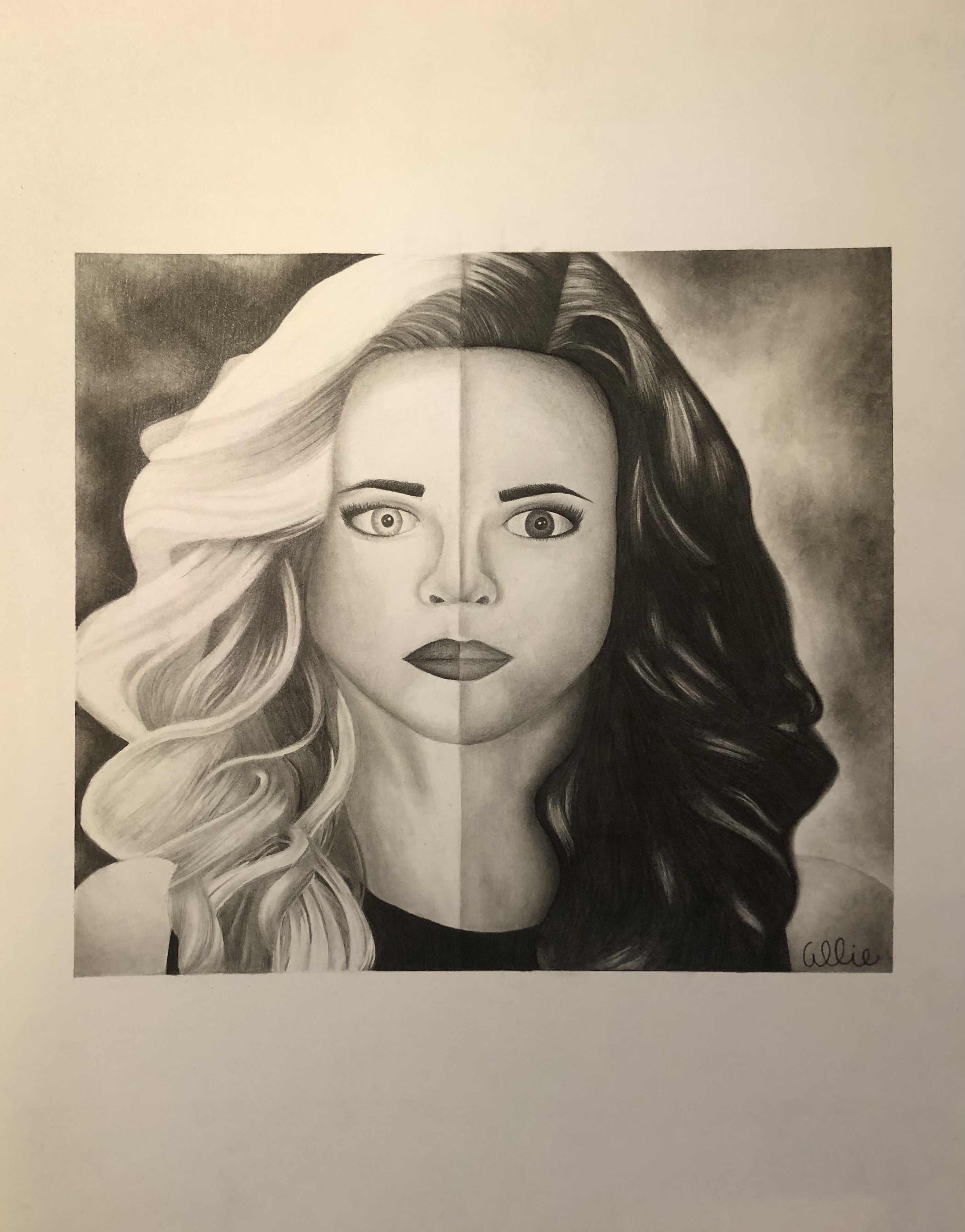Portrait: Killer Frost and Caitlin Snow