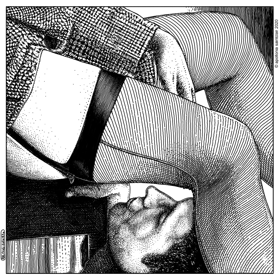Apollonia Saintclair 1003 - 20201230 La monstrance (Look in my crystal ball)