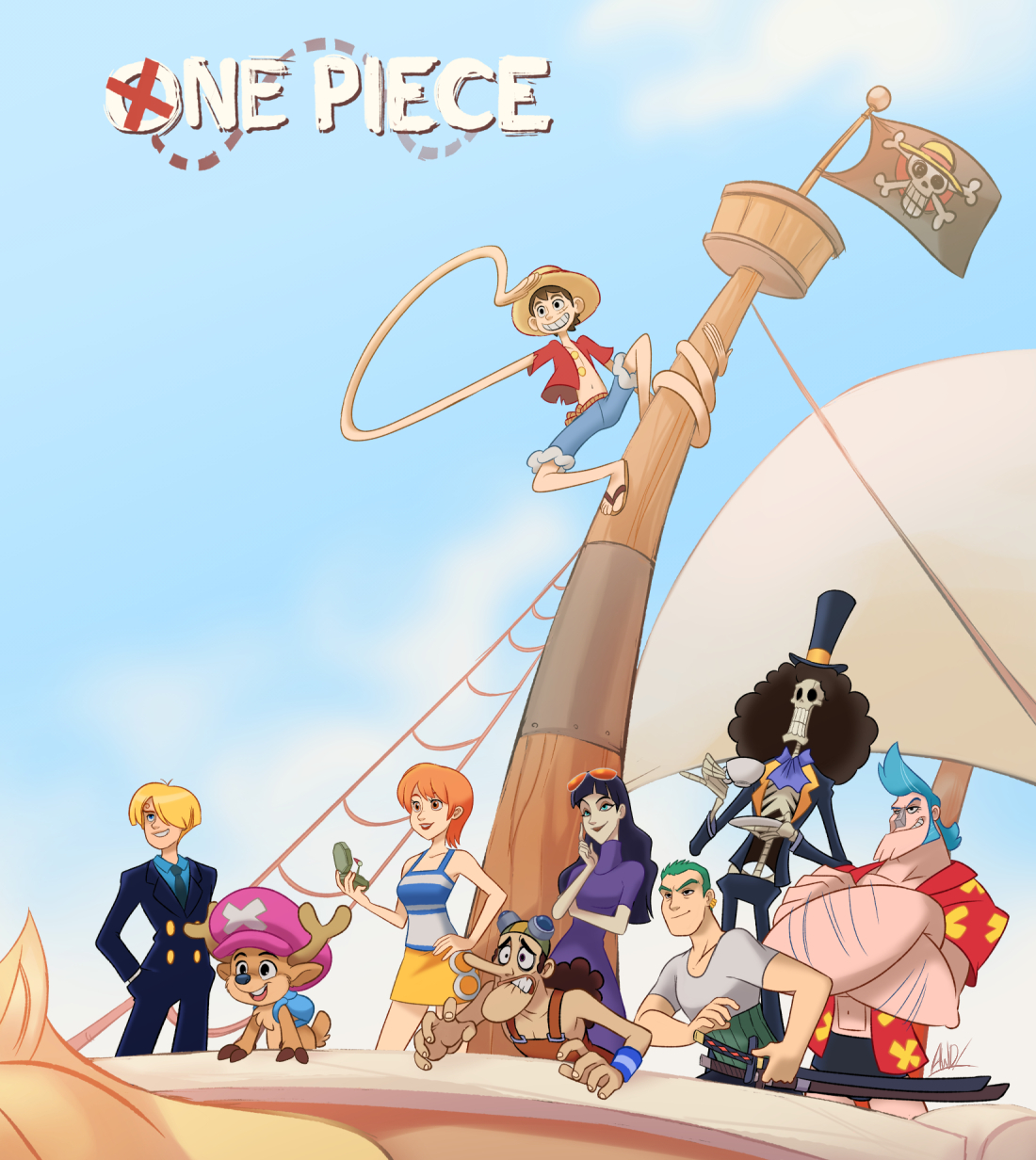 One Piece Happy 1000th!