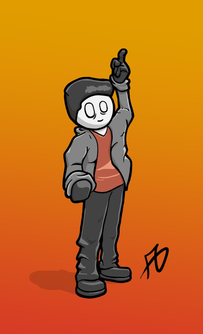 Self Portrait Character