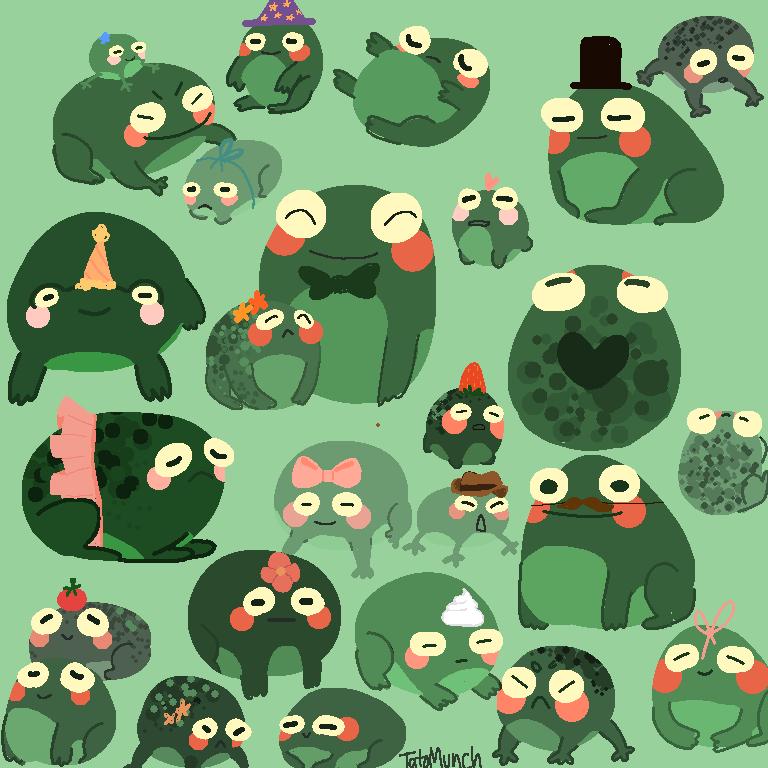 Pick a froggie