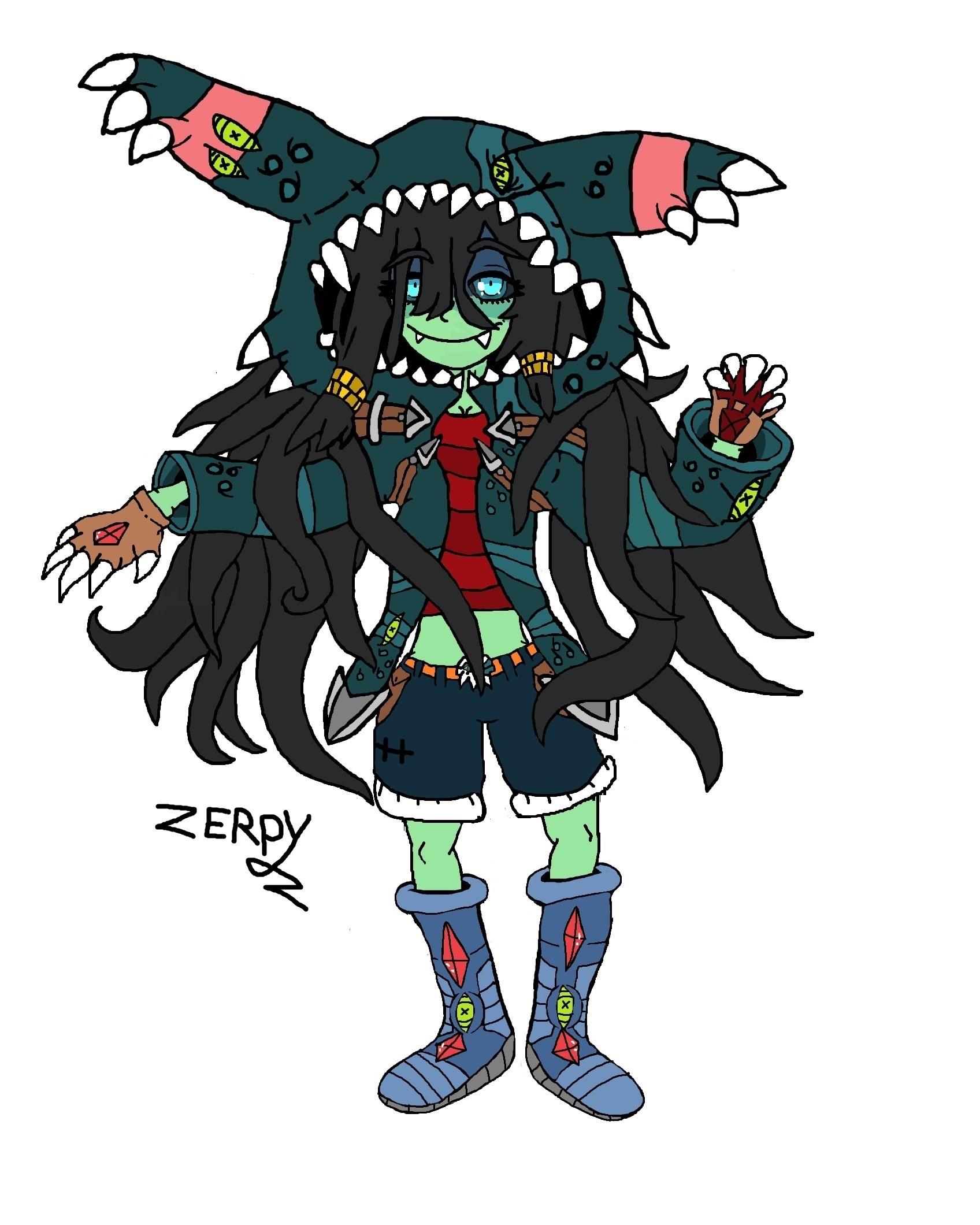 Samara monster hoodie