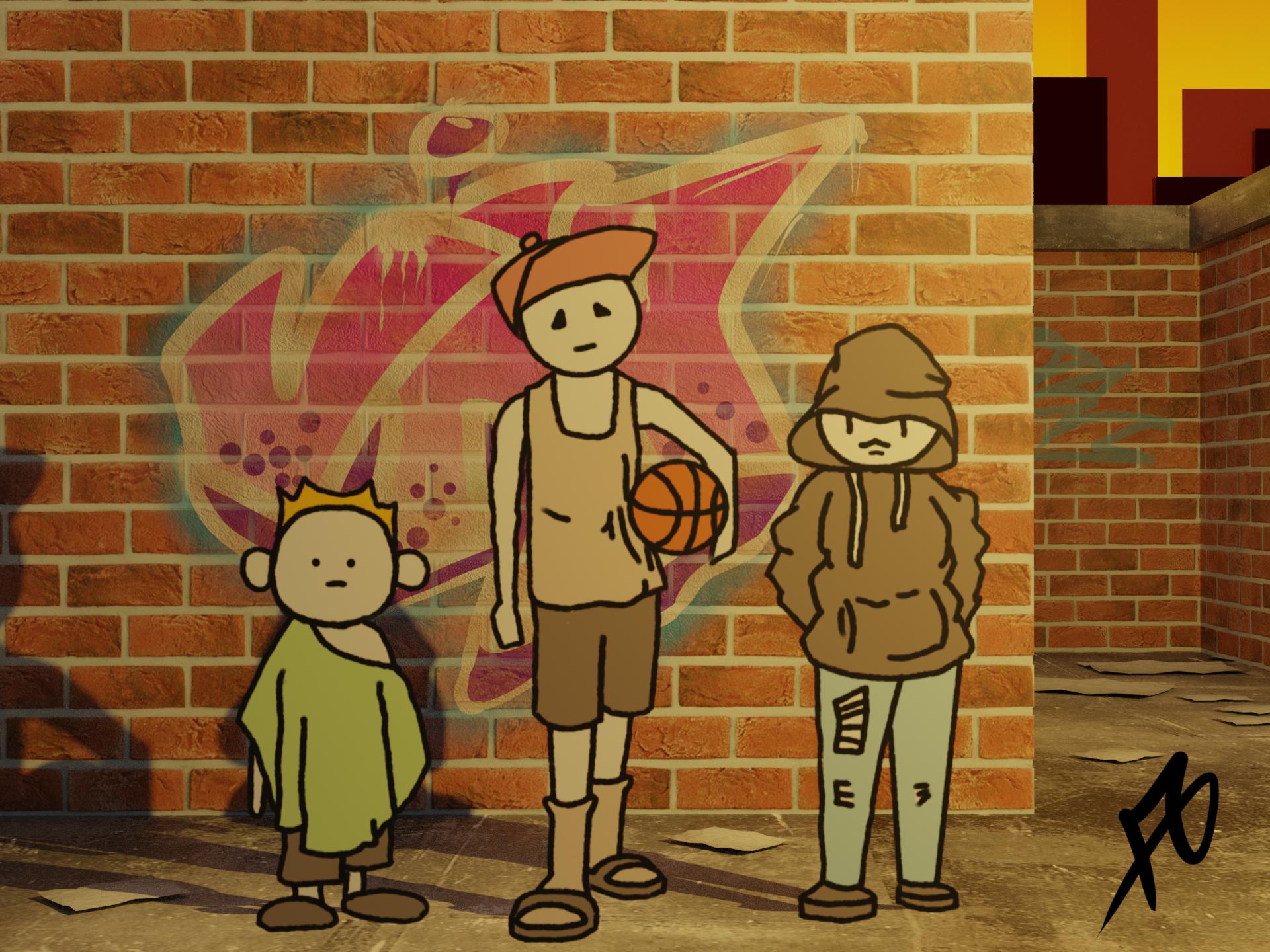 The Kids on Melancholy Street
