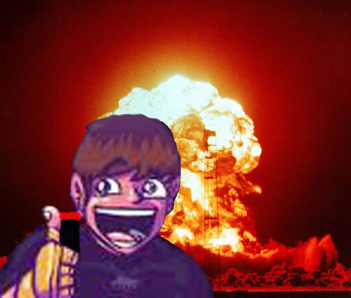 Tom likes explosions!