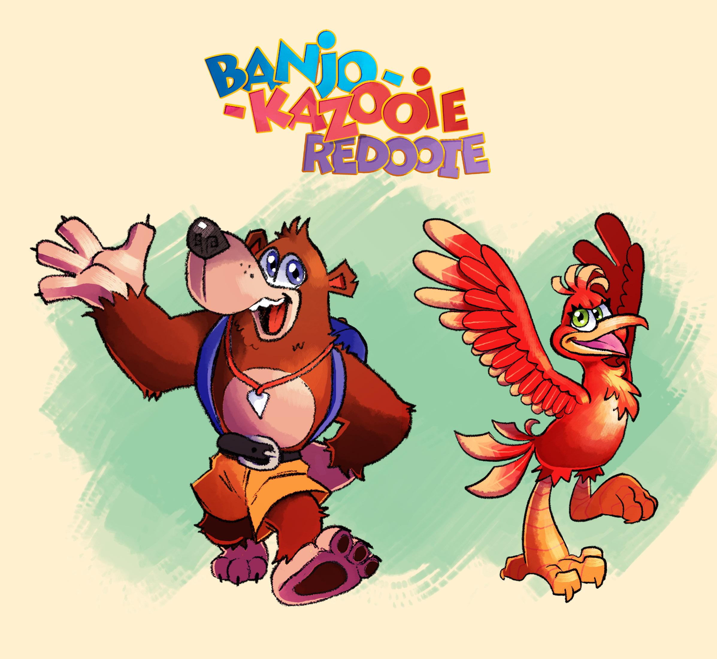 Banjo Kazooie Redooie