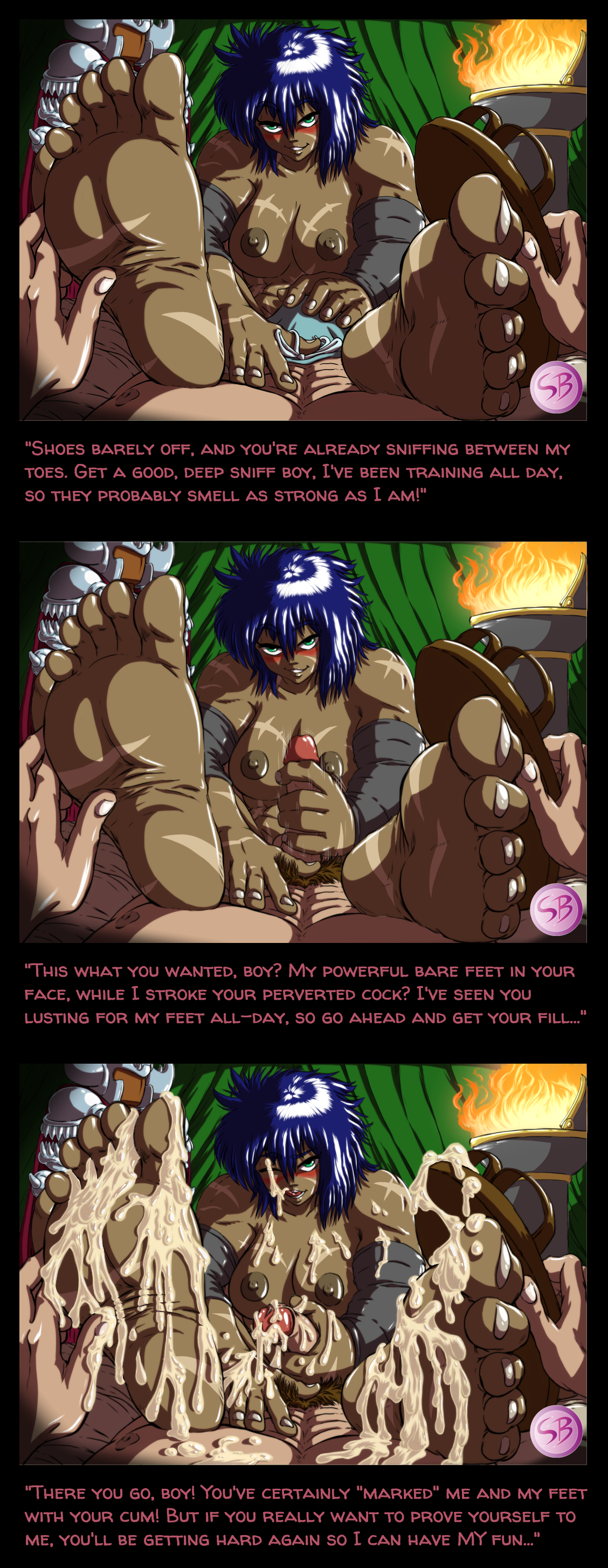 Commission: Zodha (with dialogue)