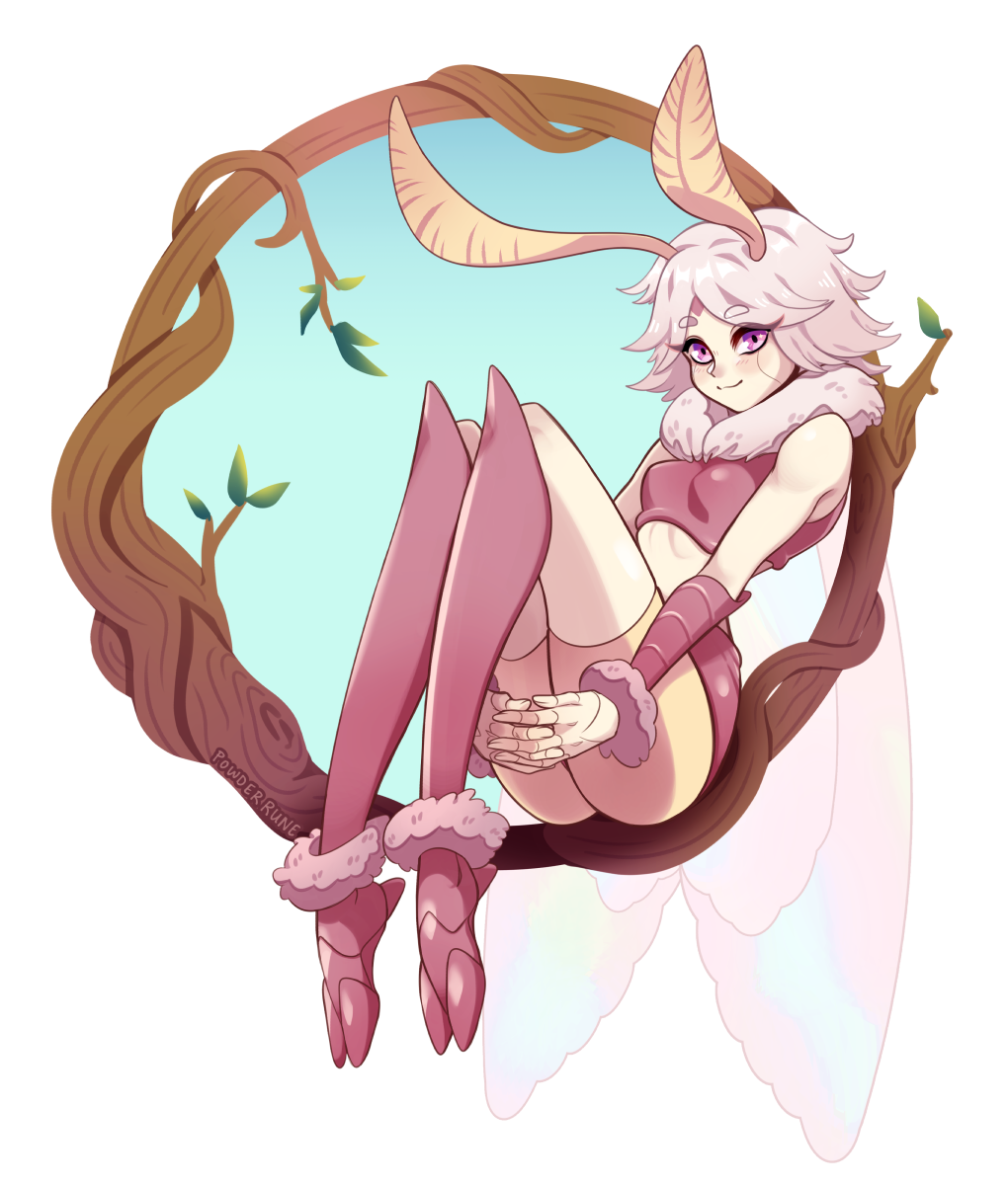Moth girl Ria