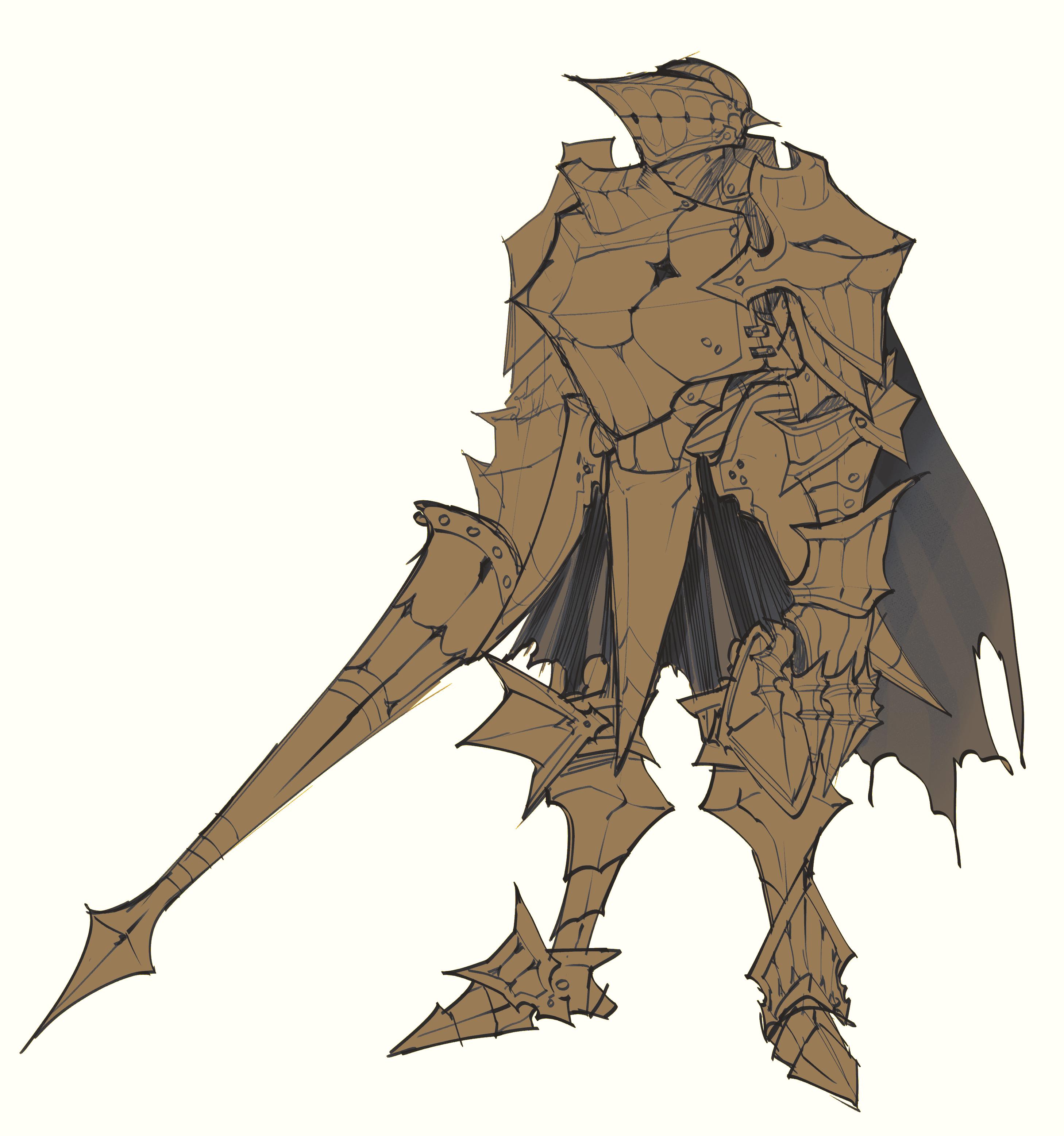 Grinning Knight