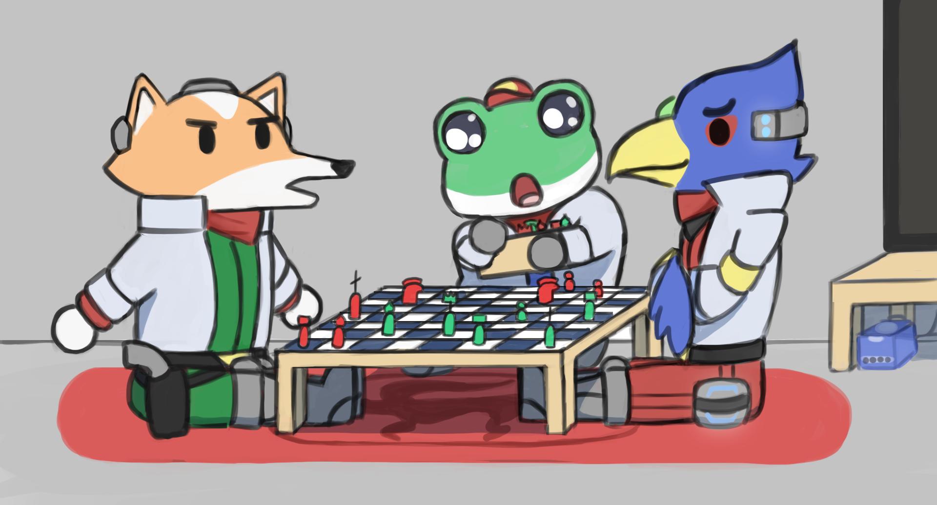 Starfox Chess game