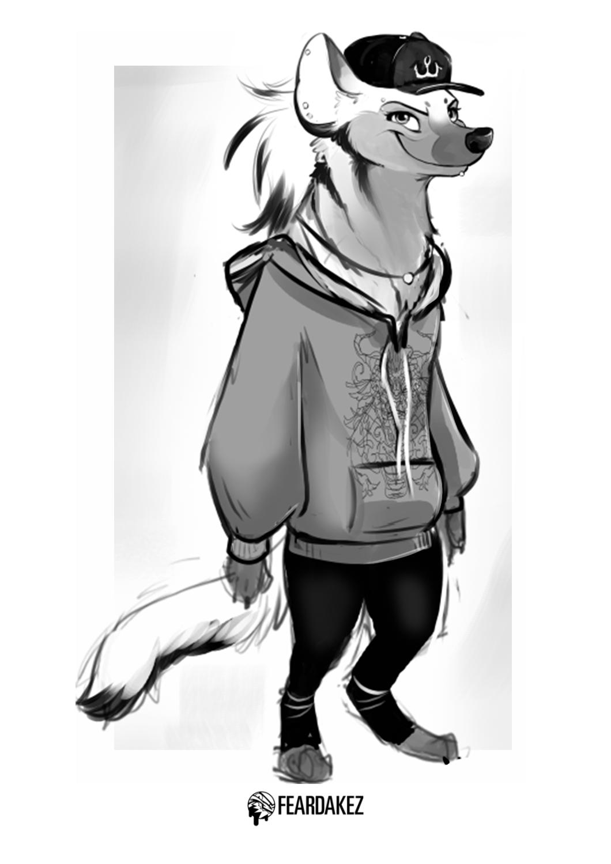 Hyena OC | FEARDAKEZ