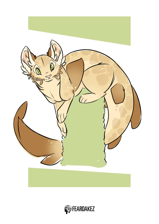 Wobbigong Cat?   FEARDAKEZ