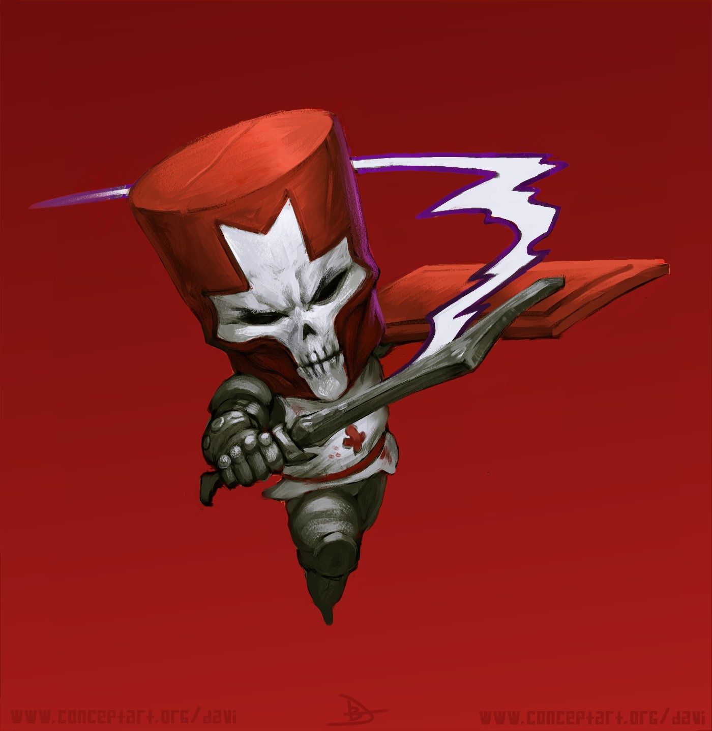 Red Knight from Castle Crasher