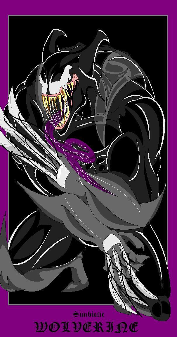 Symbiotic Wolverine