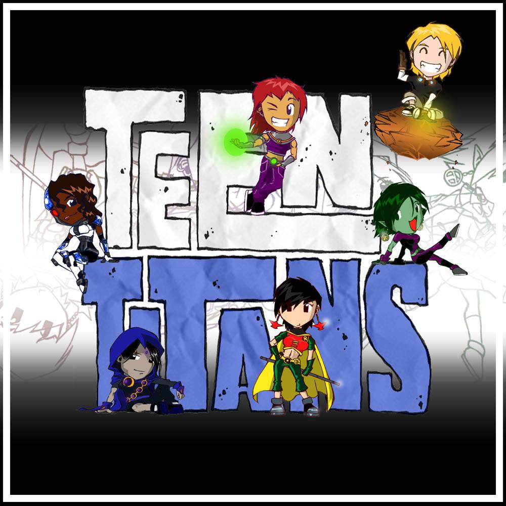 Teen Titans go!! :O