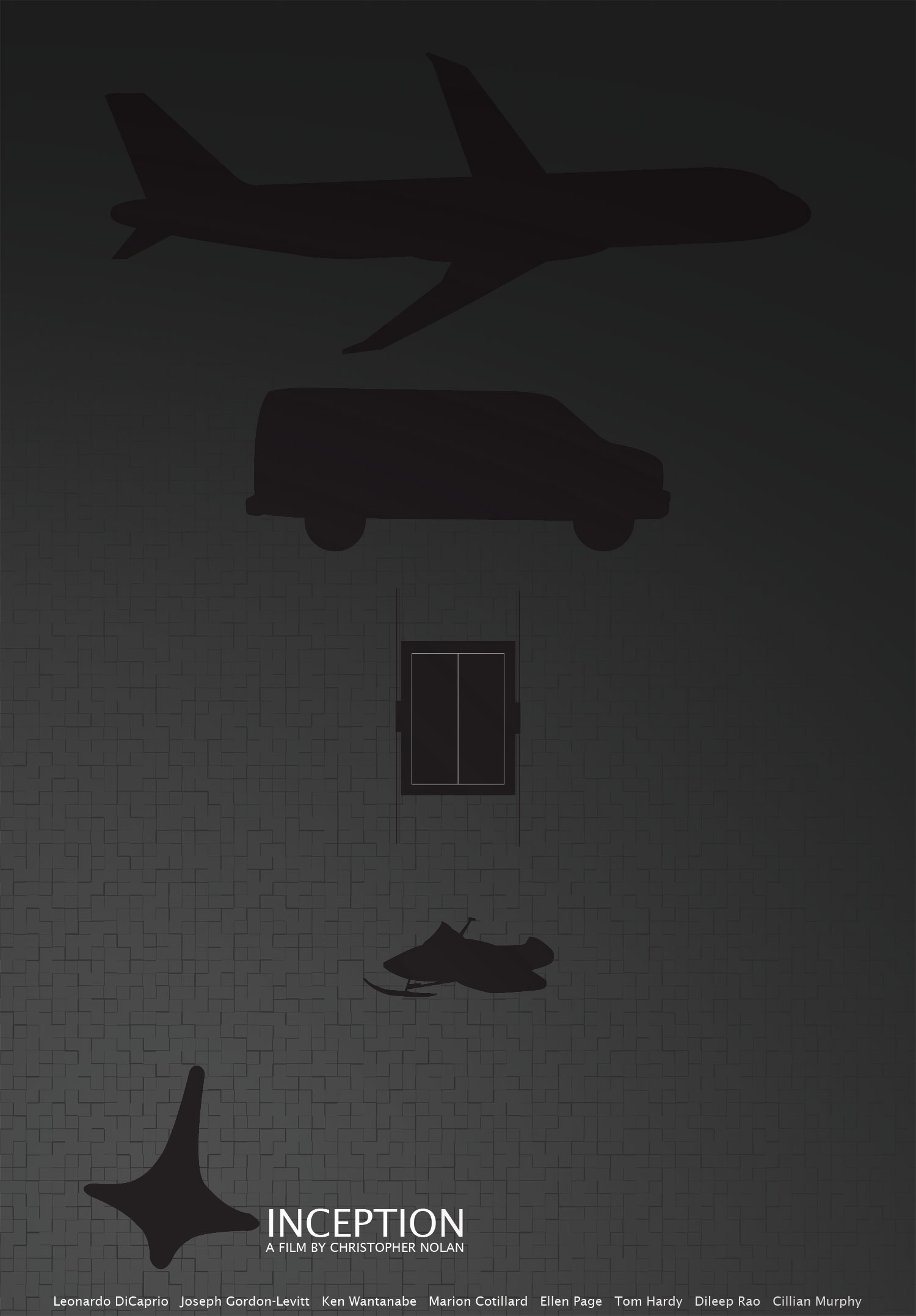 Inception Fan Poster